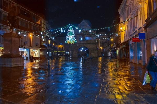 Shrewsbury Square at Christmas by Fogey