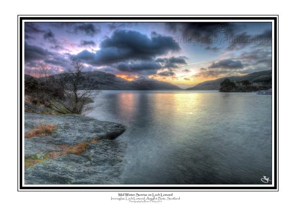 Mid Winter Sunrise on Loch Lomond by MunroWalker