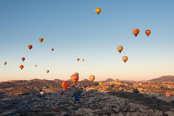 Cappadocia Balloons by SteveOh