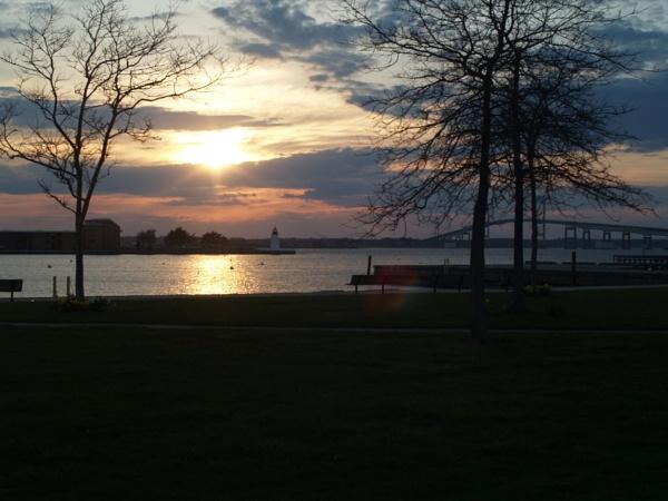 ~ Quiet Sunset in Newport by LexEquine
