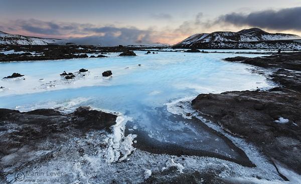 Blue Lagoon Sunset by martinl