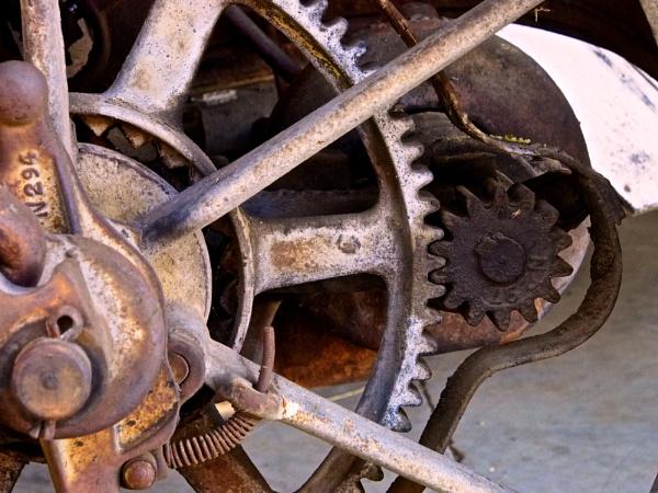 Rusty Gears by handlerstudio