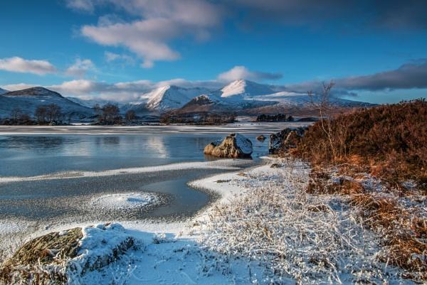 Frozen Glencoe by CameronCamera