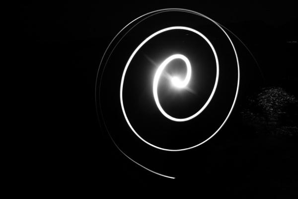 Lightpainting - Spiral by derrymaine