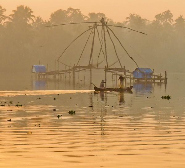 Golden hour in Cherai by silverbullet_60