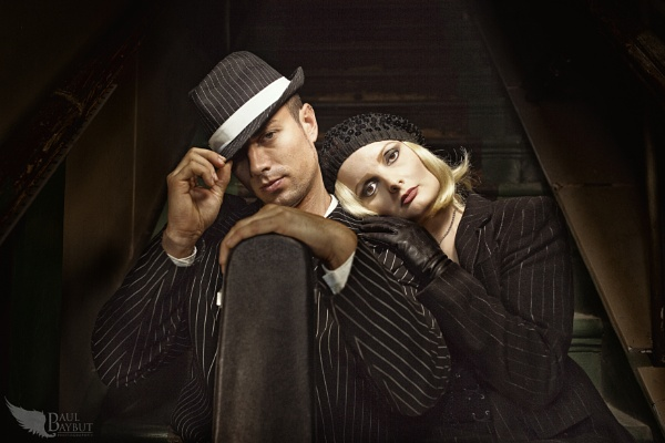 Bonnie and Clyde by paulbaybutphotography