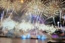 fireworks in london new years eve by gazlowe