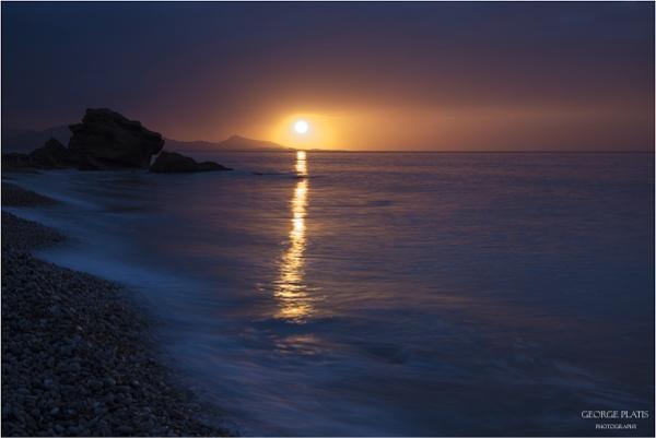 Blue Sunset by GeorgePlatis