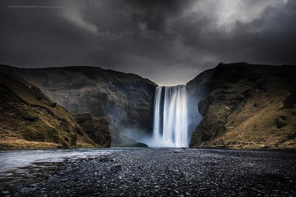 Skogafoss, Iceland by A_Stridsberg
