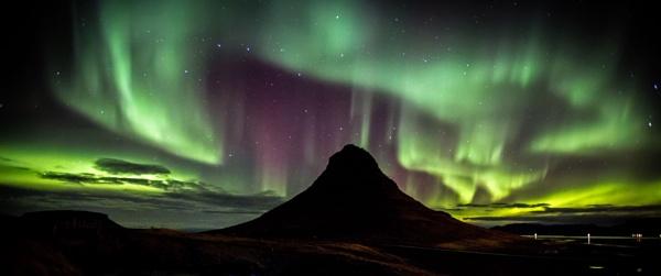 Kirkjufell Aurora by BobShaw
