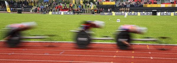 Wheelchair Racers by Graham_Woolmer