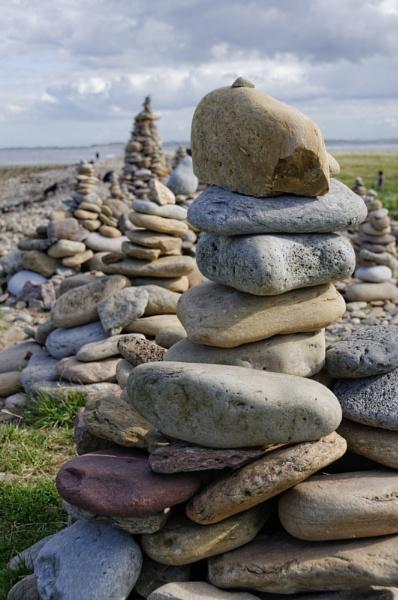 Stone columns by ikett