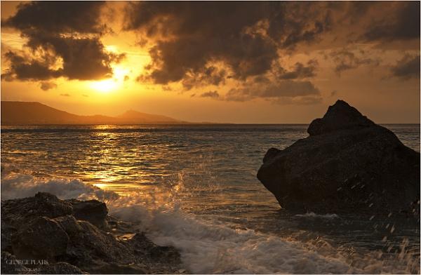 Sunset by GeorgePlatis