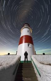 Souter Lighthouse Star Trails