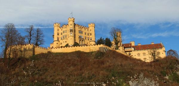 Hohenschwangau Castle, Bavaria by CarolAnnLauderdale