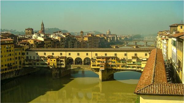 Ponte Vecchio by liarsdance