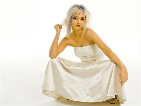 Bride with Attitude by Hoffy