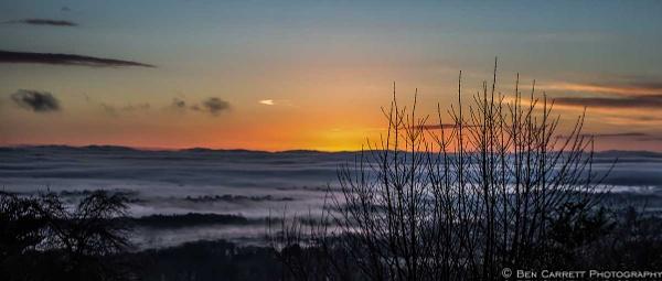 Dawn Mist by bencarrett