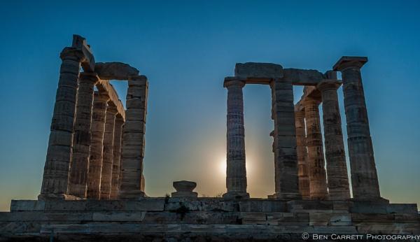 Temple of Poseidon, Sounion by bencarrett