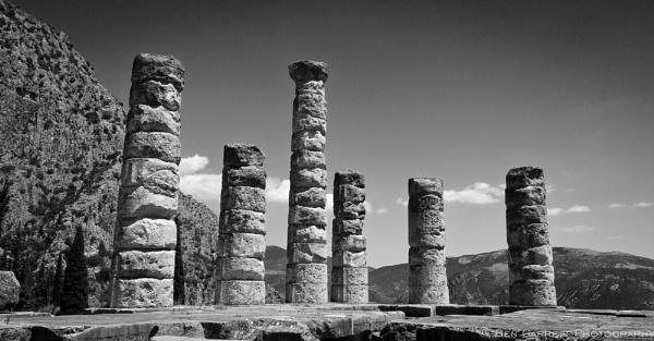 Temple of Apollo, Delphi by bencarrett