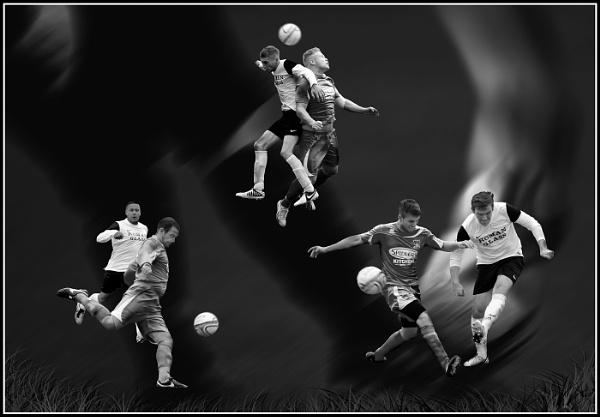 Footballing Trio by peteros