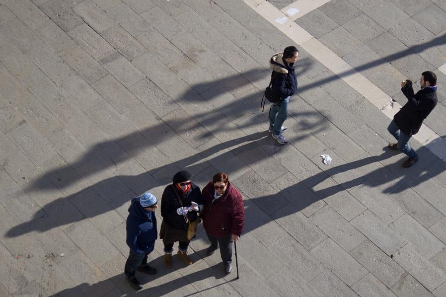 Shadows on the Piazetta