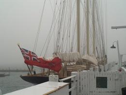~ Union Jack flying in Newport