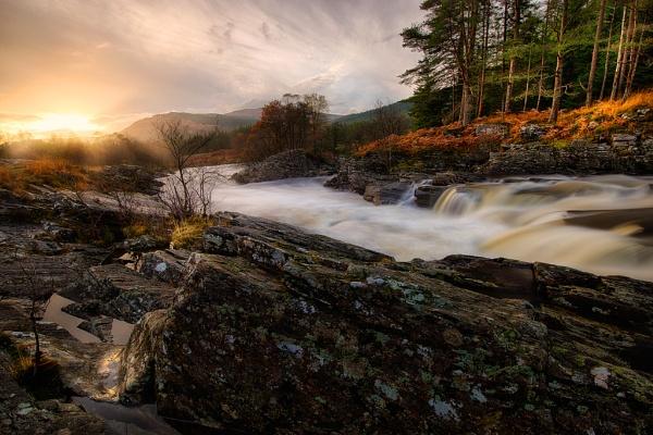 Glen Orchy Sunset by douglasR