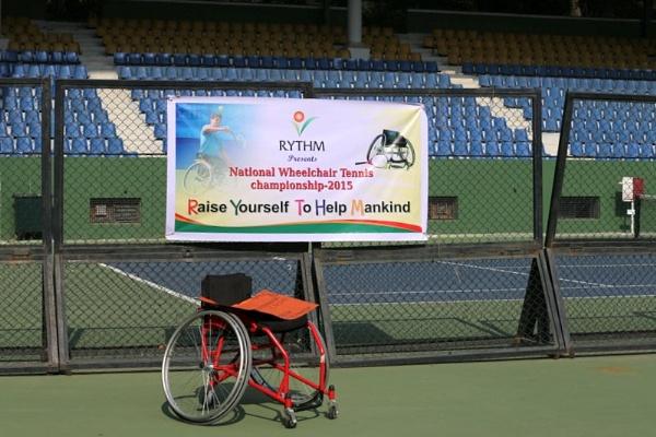 Wheelchair Tennis by ukgubbi