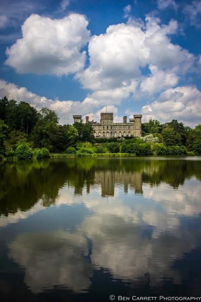 Castle in the Lake by bencarrett