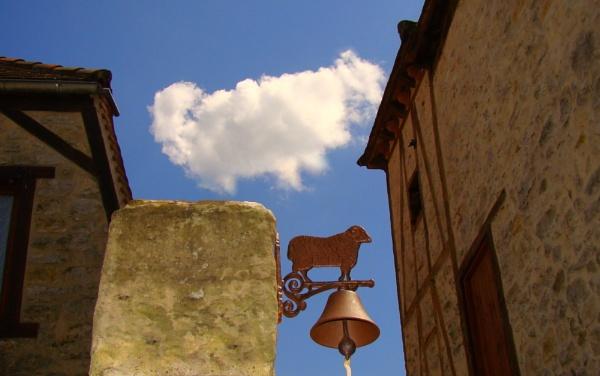 The Sheep cloud & Sheep bell.... by SvetAriadne