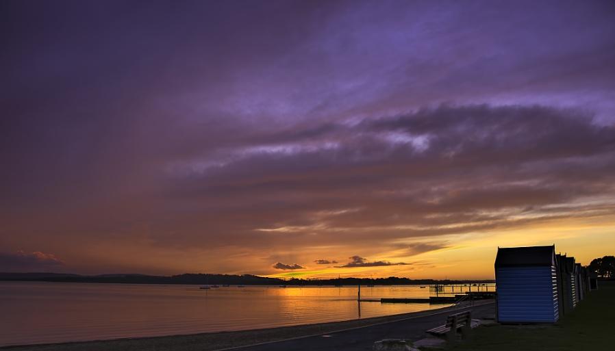 Sunset at Dorset Lake