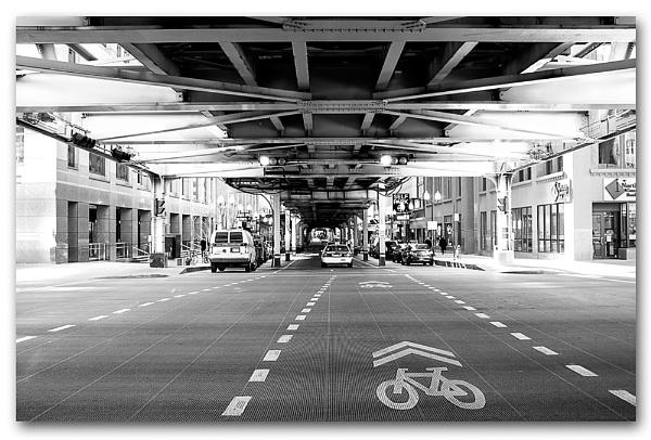 Underneath The EL by GillyB