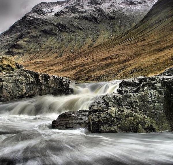 moody glen etive by davidcollins