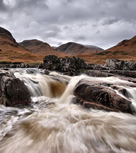 etive falls by davidcollins