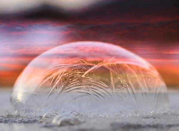 Frozen Sunset by dawnmichelle
