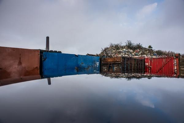 Reflections of Rubbish by jeni
