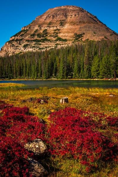 Fall at Pass Lake by ssnidey