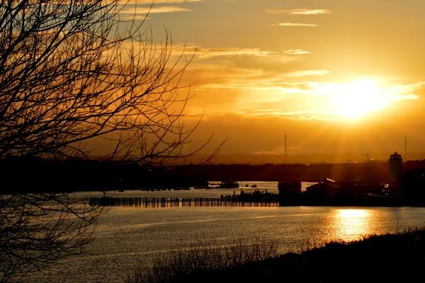 dusky river by paulpirie