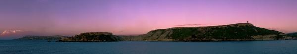 Gnejna Bay Panorama by Sgtborg