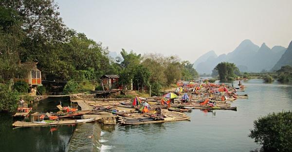 Li River,  Guilin - China by MaryFaith