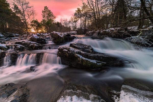 Pastel coloured sky by douglasR