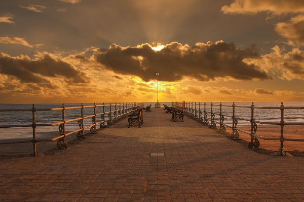 Sunrise at Swanage by Misty56