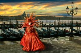 Tramonto in Venice