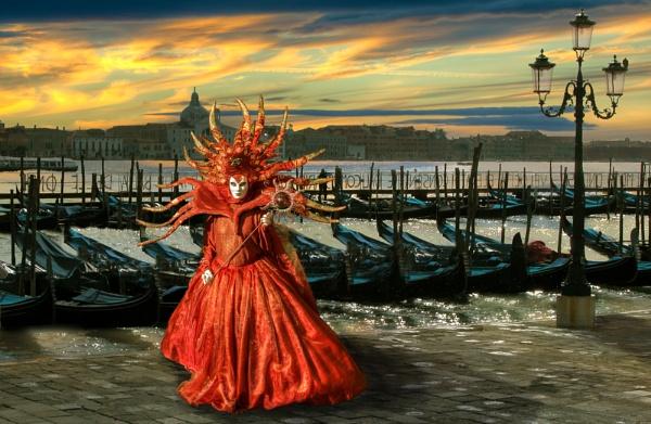 Tramonto in Venice by JoHa