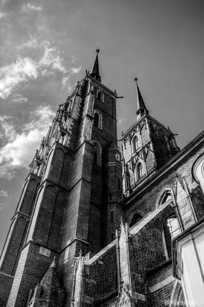 Wroclaw Church Poland by karlfox