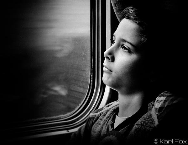 Wondering Traveller by karlfox