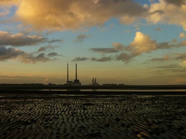 Sandymount Strand, Dublin by Kraft
