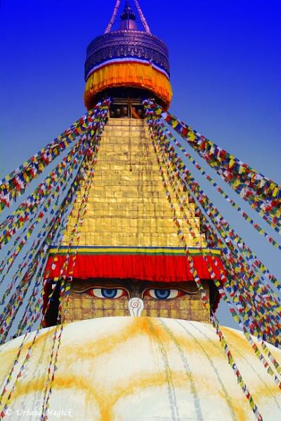 Eyes Of Buddha. by UrbaneMagick