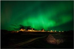 Aurora over Talmine